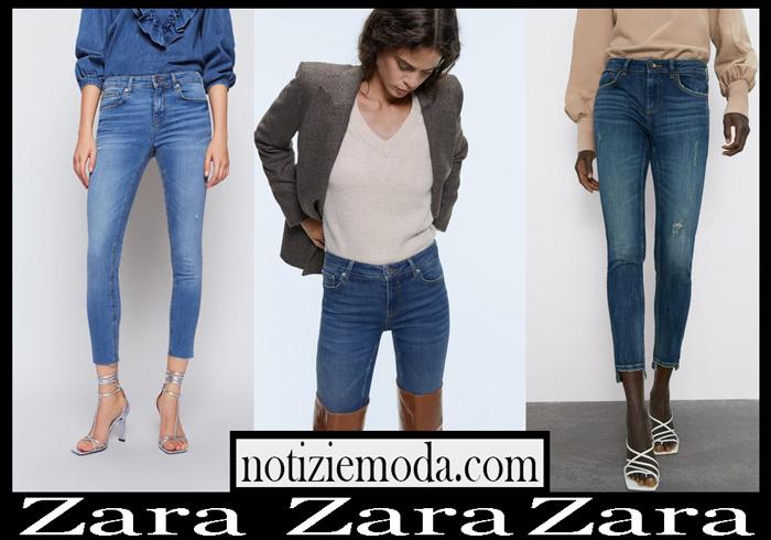 Jeans Zara autunno inverno 2019 2020 collezione donna