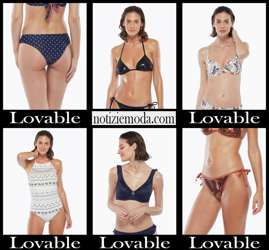 Bikini Lovable 2020 costumi da bagno donna accessori
