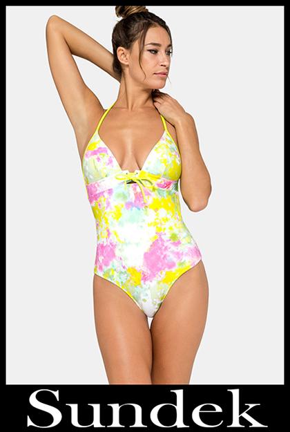 Bikini Sundek 2020 costumi da bagno donna accessori 13