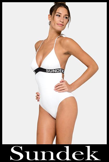 Bikini Sundek 2020 costumi da bagno donna accessori 14