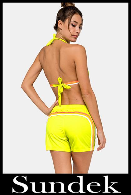 Bikini Sundek 2020 costumi da bagno donna accessori 19