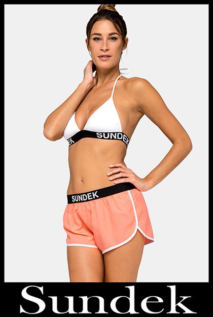 Bikini Sundek 2020 costumi da bagno donna accessori 26
