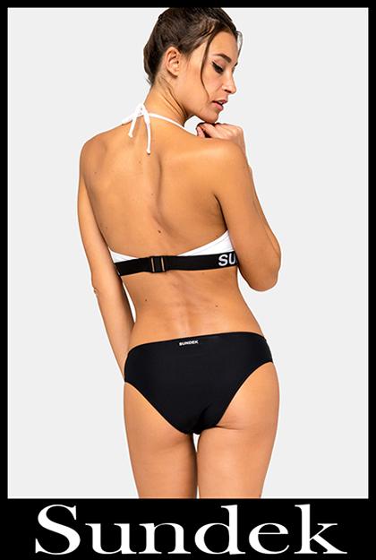 Bikini Sundek 2020 costumi da bagno donna accessori 28