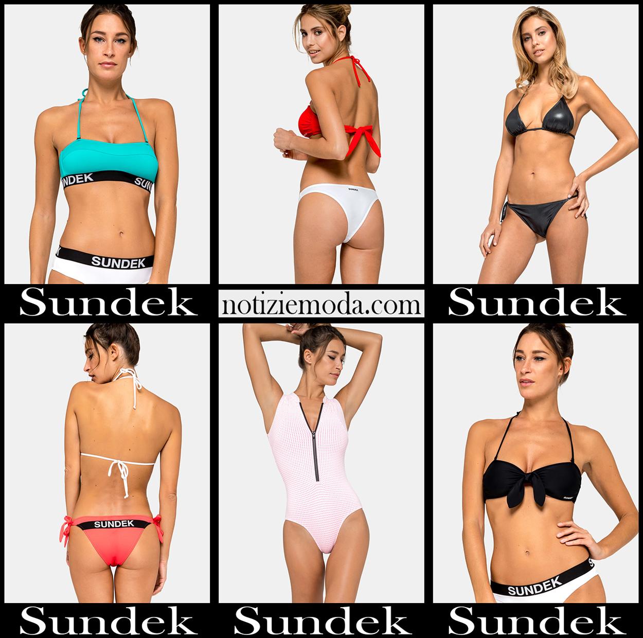 Bikini Sundek 2020 costumi da bagno donna accessori