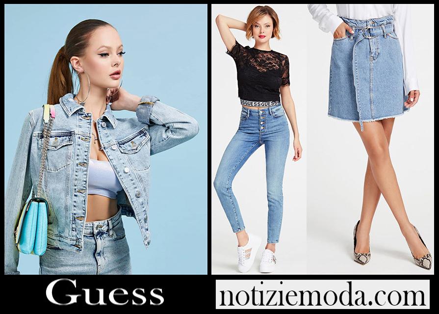 Jeans Guess 2020 nuovi arrivi abbigliamento donna
