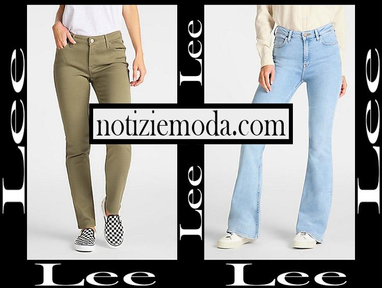 Jeans Lee 2020 abbigliamento denim donna