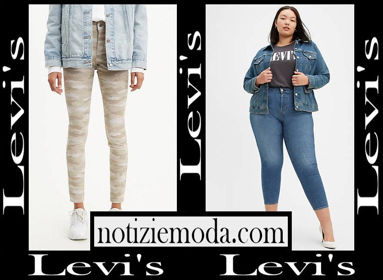 Jeans Levis 2020 abbigliamento denim donna