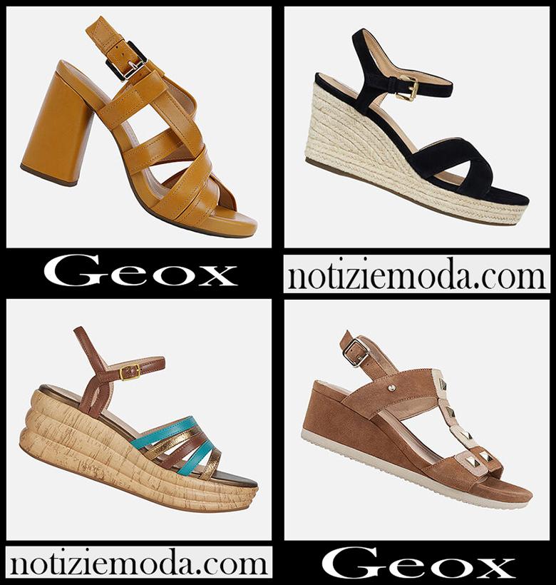 Sandali Geox 2020 nuovi arrivi scarpe donna