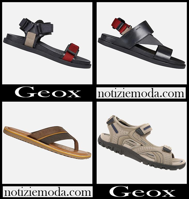 Sandali Geox 2020 nuovi arrivi scarpe uomo