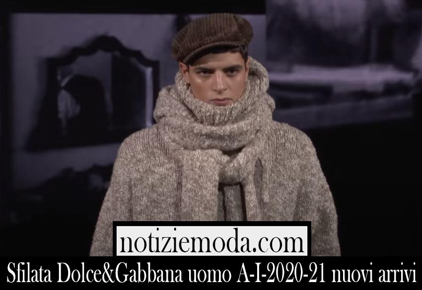 Sfilata Dolce Gabbana 2020 21 autunno inverno uomo